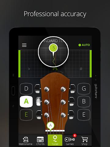 android Accordeur Guitares -GuitarTuna Screenshot 2