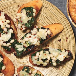 Kale and Bean Bruschetta Recipe