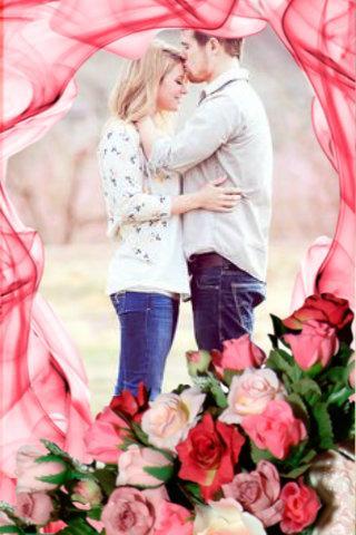 Romantic Couple Photo Frames
