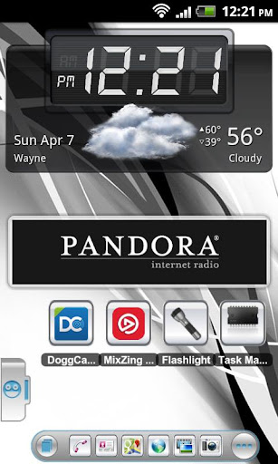 TSF Theme Soft White HD
