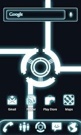 ADW Theme Glow Legacy Pro Screenshot 1