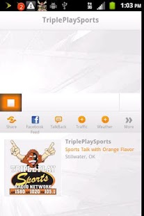TriplePlay Sports Radio- screenshot thumbnail