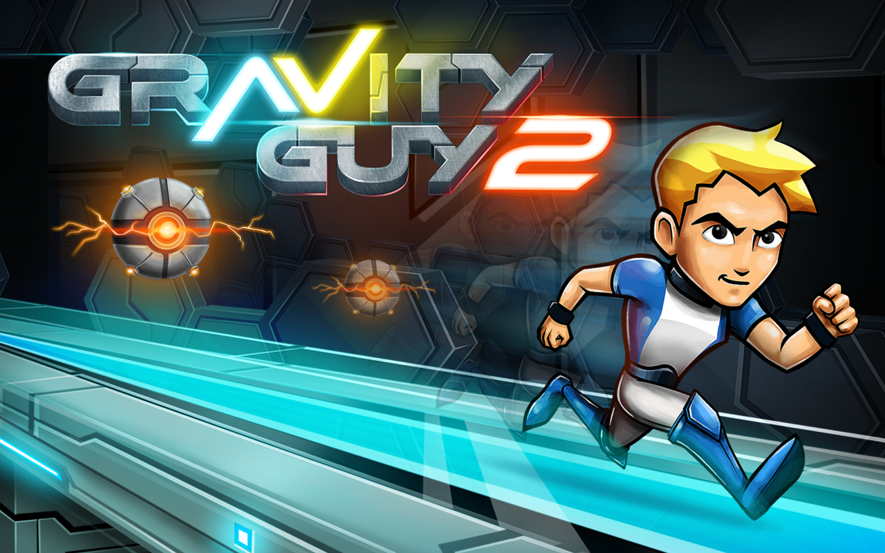 Gravity Guy 2- screenshot