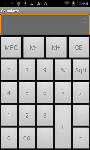 Simple day to day Calculator