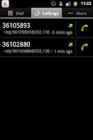 Screenshot of CallMeLa