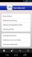 Screenshot of Barnläkarråd