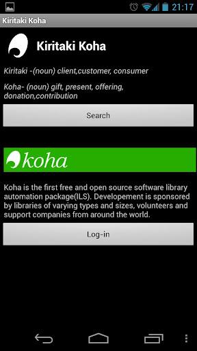【免費程式庫與試用程式App】Kiritaki Koha (Beta)-APP點子