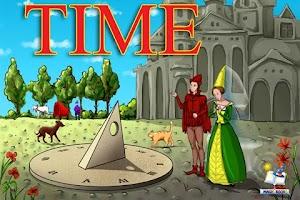Screenshot of Time - educational book