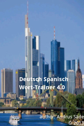 Spanish German Trainer 2400wrd