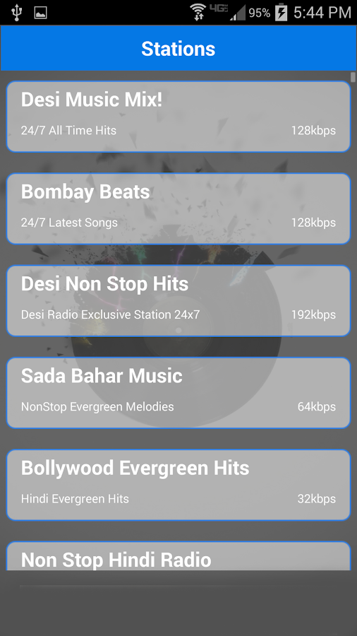 Desi Radio - Indian Stations - screenshot