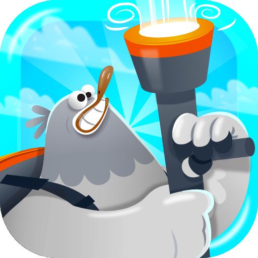 Stupid Pigeon 3 飞溅 (Splash) 街機 LOGO-玩APPs