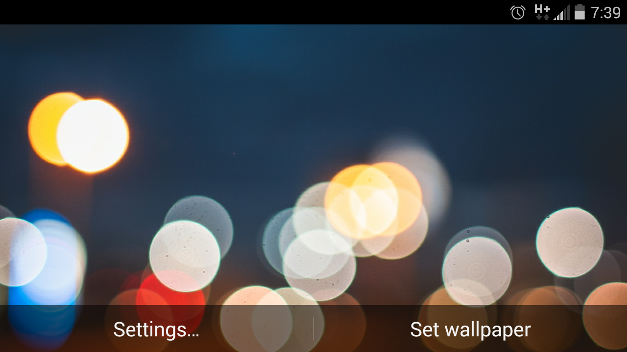 Android 3d Effect Wallpaper Hd: Bokeh Light 3D Live Wallpapers