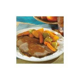 Swanson® Savory Pot Roast with Harvest Vegetables.