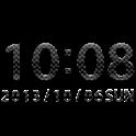 Carbon clock widget -MeClock icon