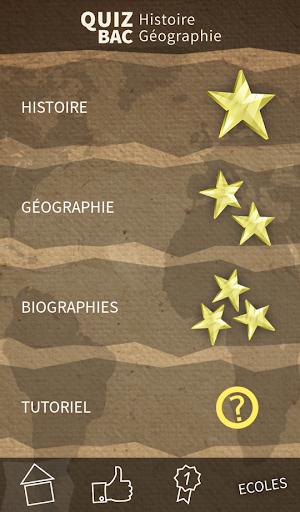 BAC histoire-Géo quiz 2015