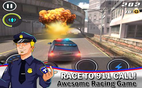 Cop Car Smash Police Racer