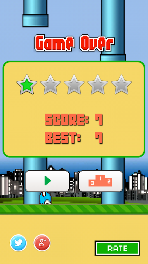 Floppy Bird- screenshot