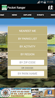 Screenshot of VA State Parks Guide
