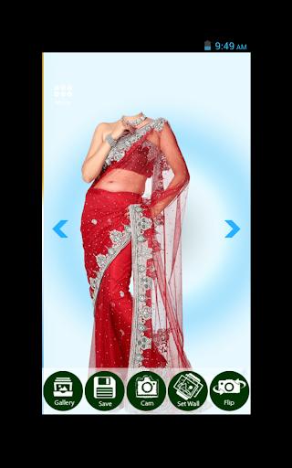 Indian Woman Saree Photo Shoot