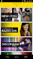 Screenshot of Radio 105
