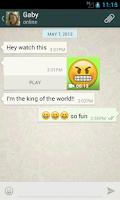 Screenshot of Talking Smiley