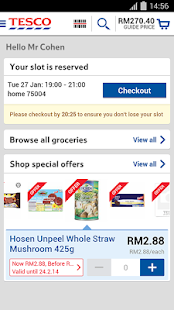 Tesco online malaysia android apps on google play for Check online shopping website