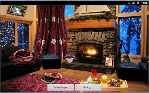 Romantic Fireplace LWP - screenshot thumbnail