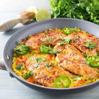 Mexican Chicken Skillet Dinner.