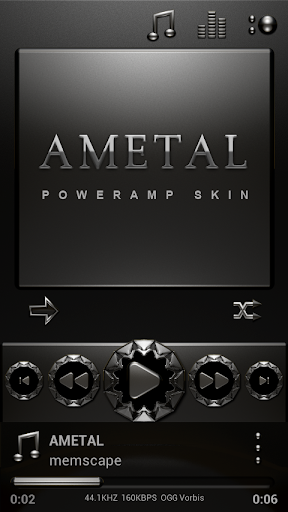 Poweramp skin Material - Android Apps on Google Play