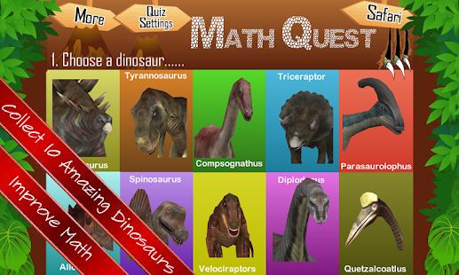 Math Quest Quiz Fifth Grade 5