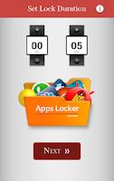 Screenshot of Applocker - Parental Control