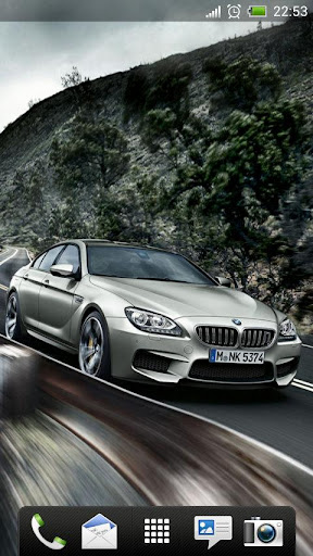 BMW M6 Gran Coupe Live Wallpap