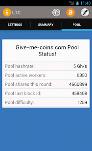 Give Me Coins Monitoring app- screenshot thumbnail