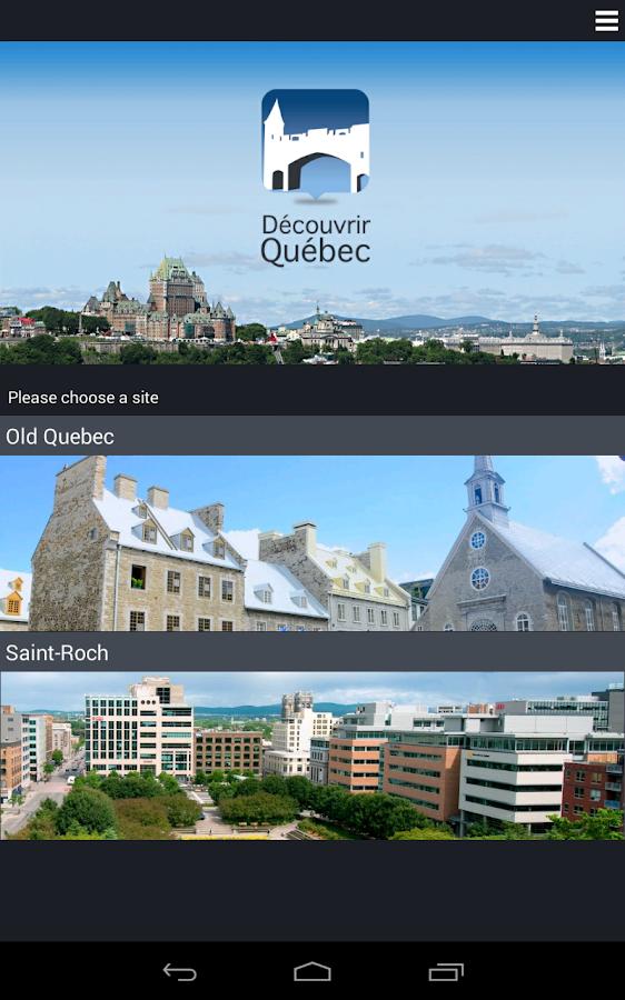 Discover Québec - screenshot