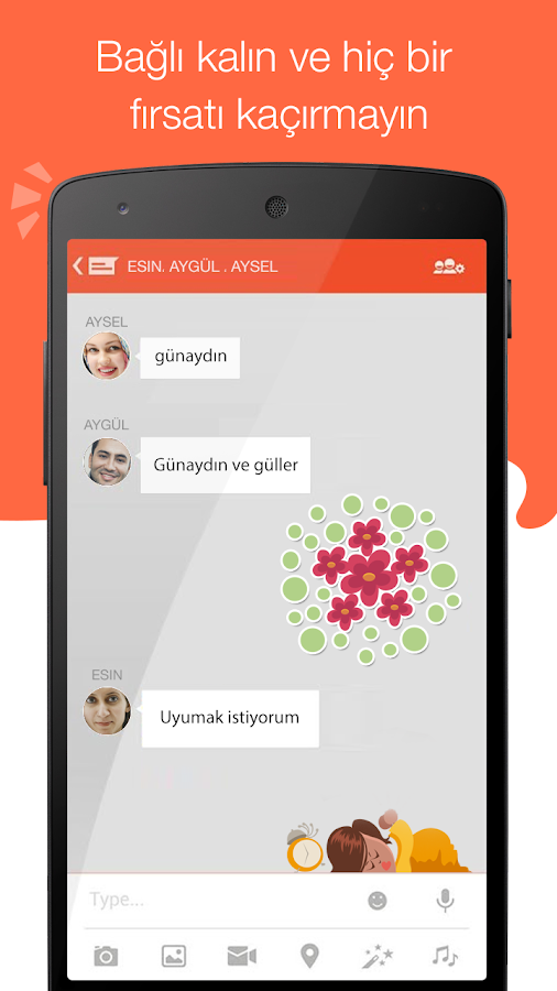 Tango Mesaj, Ses & Görüntü - screenshot