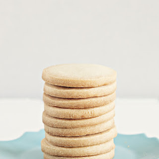 Three Ingredient Shortbread Cookies.