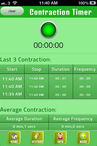 玩免費健康APP|下載Labor Contraction Timer app不用錢|硬是要APP
