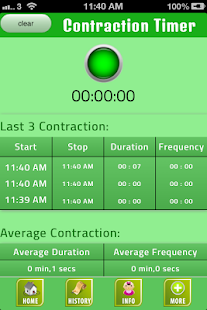 Labor Contraction Timer- screenshot thumbnail