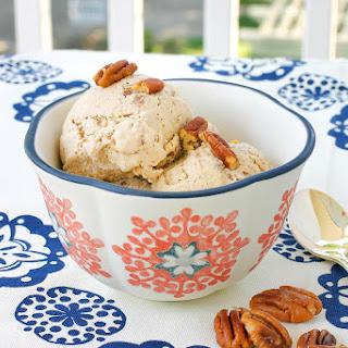 Vegan Butter Pecan Ice Cream