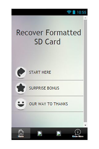 Recover Formatted SD Card Tips