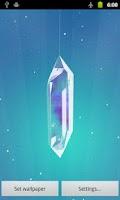 Screenshot of Lucky Crystal Live Wallpaper