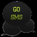 GO SMS - Intense Green icon