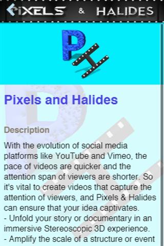 Pixels and halides