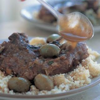 Braised Moroccan Lamb Chops.