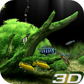 Virtual Aquarium 3D Wallpaper