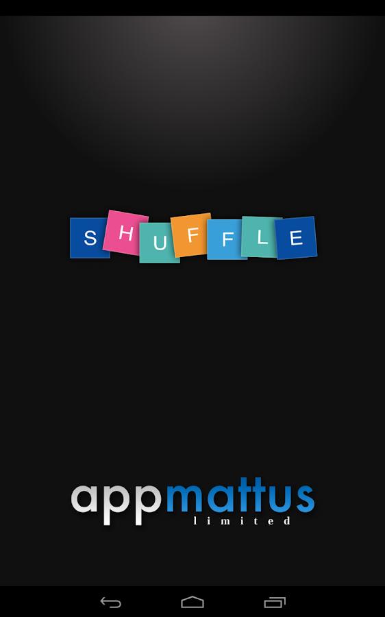 Shuffle - screenshot