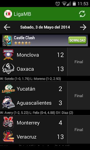 LigaMB - Liga Mexicana Beisbol