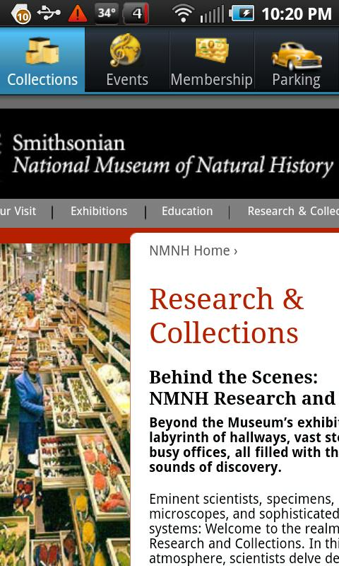 Museums In Washington DC - screenshot