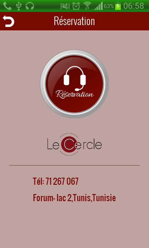 Le Cercle - screenshot