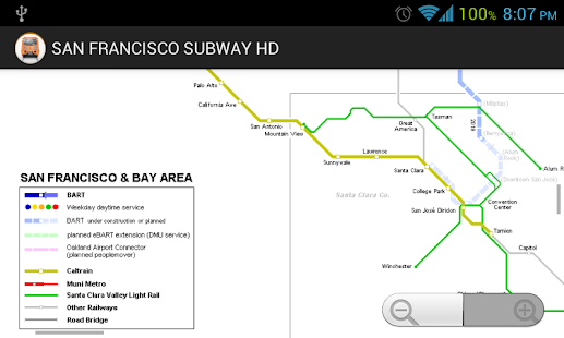 SAN FRANCISCO SUBWAY BART HD - screenshot thumbnail